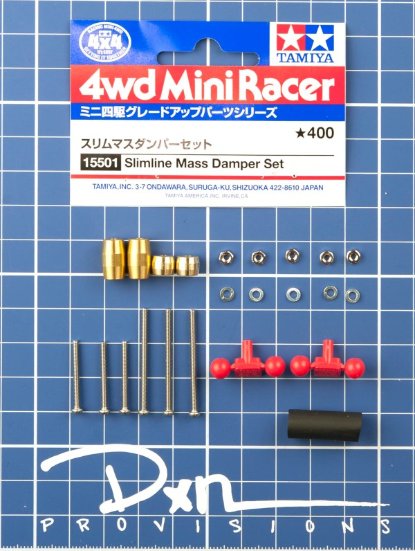 Slimline Mass Damper Set 15501