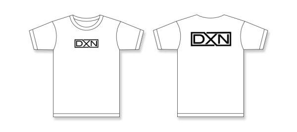 DXN-Box-Logo-Tees-White-Front-Back