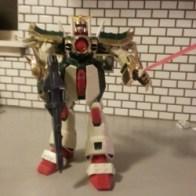 Dragon Gundam Mega Size 2002 Neo China GF13-011NC - Bandai America from anime Mobile Fighter G Gundam(機動武闘伝Gガンダム Kidou Butouden G Gundam) 1994-1995