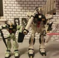 Deluxe Nu Gundam RX-93 Char's Counterattack 1988 Bandai
