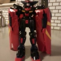 Master Gundam GF13-001NHII Bandai America 2004 - representing Neo Hong Kong - from anime Kidō Butōden G-Gundam(機動武闘伝Gガンダム) 1994-1995 Item#11347