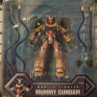 Mummy Gundam 2002 Bandai America GF4-001NE Pharaoh Gundam IV ファラオガンダムIV世 or 法老高达IV世 representing Neo Egypt from anime Kidō Butōden G-Gundam(機動武闘伝Gガンダム) 1994-1995 Item#11302