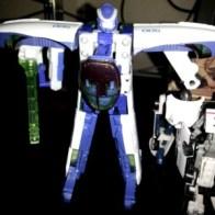 Railspike(ジェイファイブ Jeifaibu) Transformers by Takara - Cybertron Team Shinkansen 2000 Team Bullet Train Japanese ID number C-012