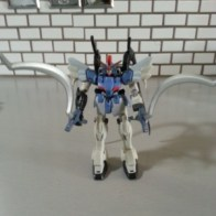 "MSIA Gundam Sandrock Custom XXG-01SR Bandai America 2000 Item #11607 Toonami Cartoon Network 4.5"" robot from anime Mobile Suit Gundam Wing((新機動戦記ガンダム W Shin Kidō Senki Gandamu Uingu or 新機動戰記鋼彈W) 1995-1996"