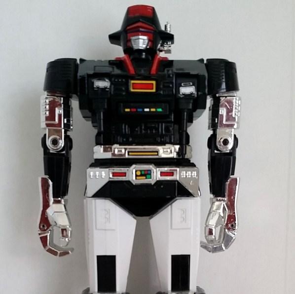 Popy Bismarck DX GC-22 1985 robot headshot from anime Seijuushi Bismarck(星銃士 ビスマルク) 1984-1985 Star Musketeer Bismarck