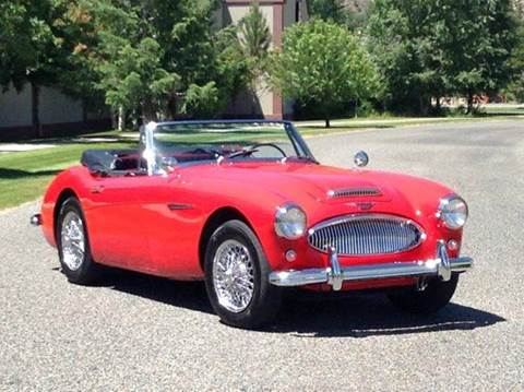 Used Cars Hailey Classic Cars For Sale Boise ID Hailey ID Sun Valley     1963 Austin Healey BJ7