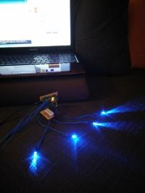 LED wiring, lights on 2