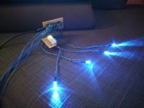 LED wiring, lights on 1