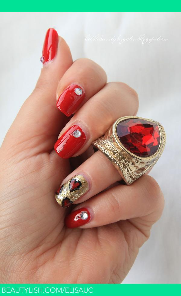 Red Nails Elisa Us Elisauc Photo Beautylish
