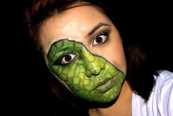 Lizard face! | Alicia P.'s (alicialayne) Photo | Beautylish
