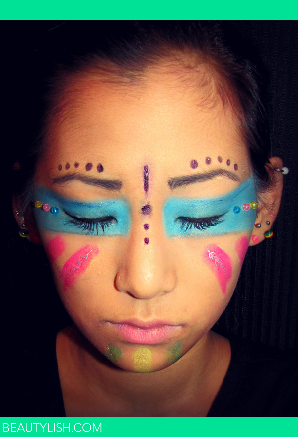 Native American Theme Tribal Makeup Emmallyn Bs Photo