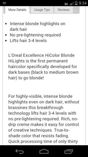 Loreal Hi Color Lift New Blondes For Dark Hair Beautylish