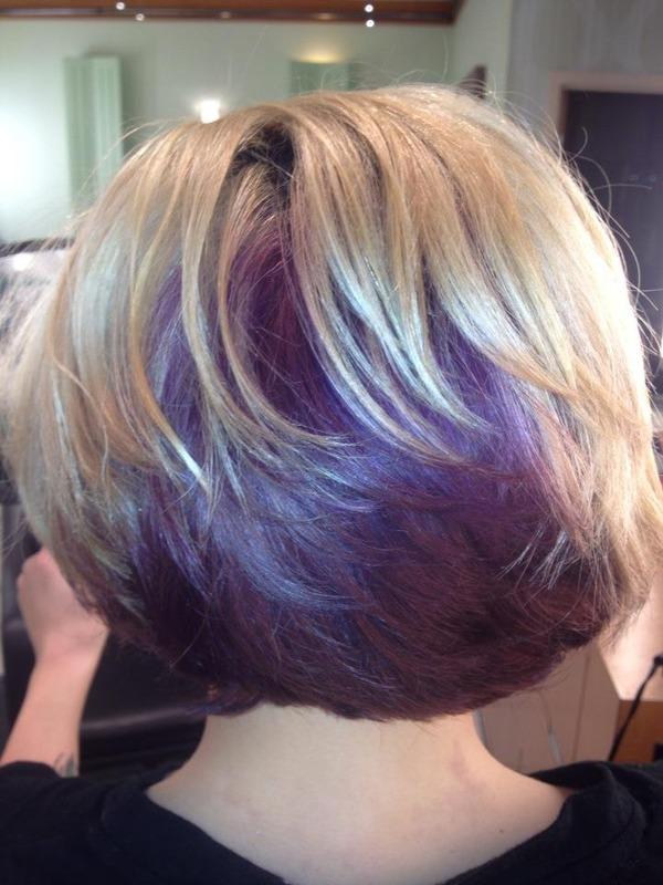 Purple Hair Becky Fs Photo Beautylish