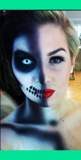 Half Skull Sara Ds Photo Beautylish