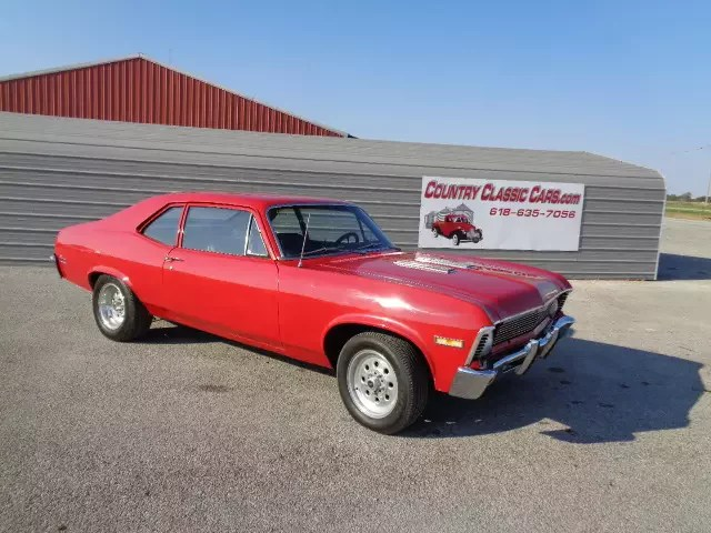 1969 Chevrolet Nova for sale near Staunton  Illinois 62088     1969 Chevrolet Nova for sale 100912360