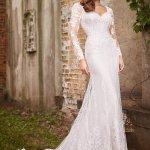 Long Sleeve Modest Wedding Dresses Martin Thornburg