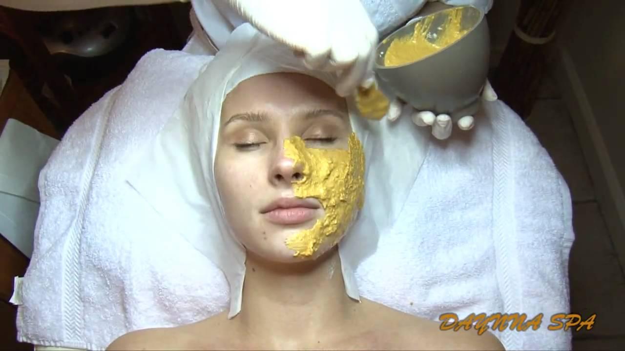 The 24KT Gold Mask Facial Brazilian Waxing CenterSpa