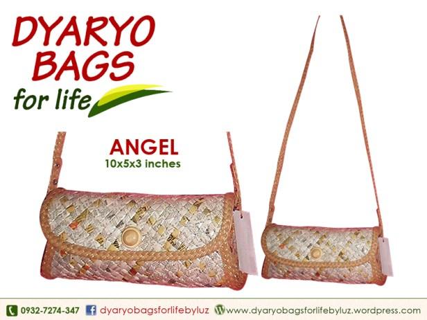 sling bag, newspaper bag, dyaryo bag, grocery bag, fashion bag, recycle bag - Dyaryo Bags for Life by Luzviminda Madriñan