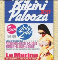 "Printed tickets for Bikini Palooza in 2017, later renamed ""Beach Wear Affair"""