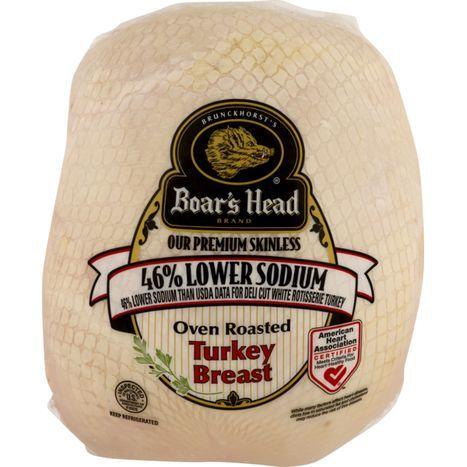 Buy Boar39s Head Low Salt Roasted Turkey Breast Online