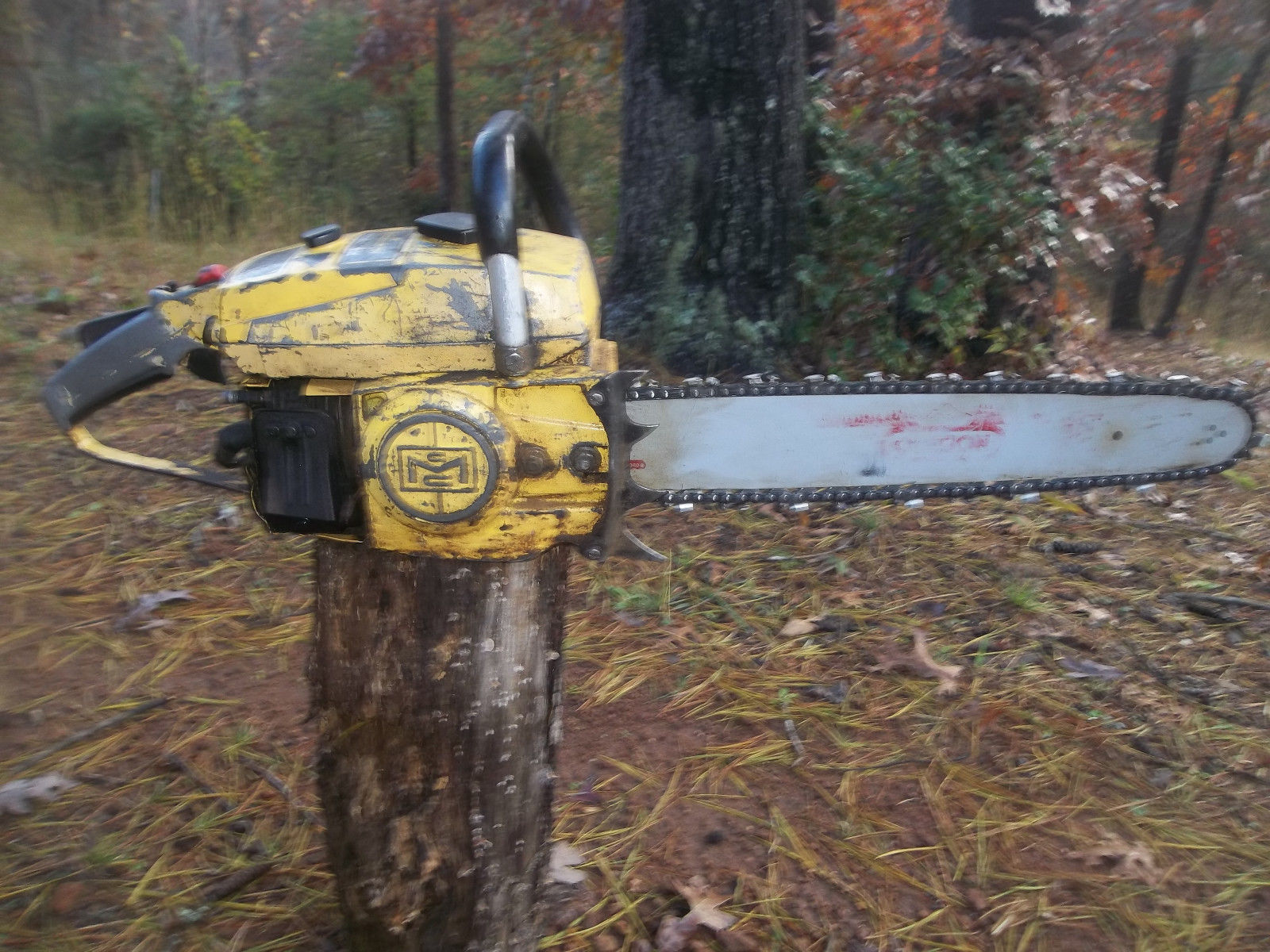 Mcculloch Promac Pm 700 Chainsaw Runs Dyer 2 Cycle