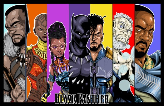 Black Panther Wakanda Marvel