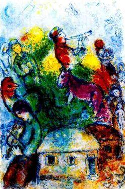 """Marc Chagall """"Shofar"""""""