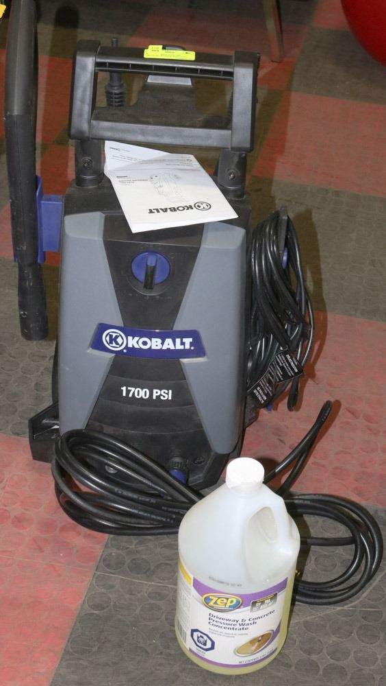 Kobalt 1700psi Electric Pressure Washer With Soap