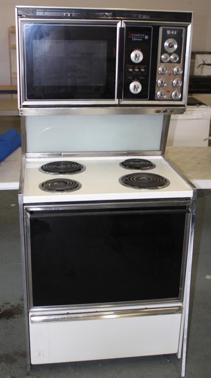 electric stove microwave combo