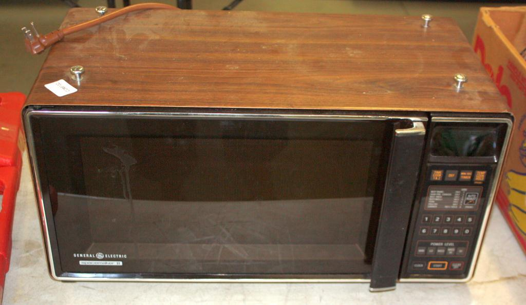 g e spacemaker ii microwave