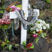 Cemetery on the Big Island Hawaii