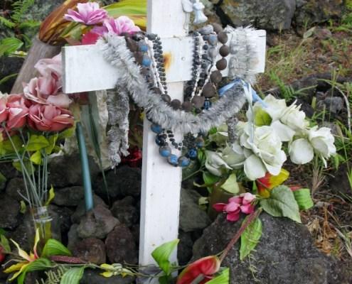 Cemetery on the Big Island Hawaii
