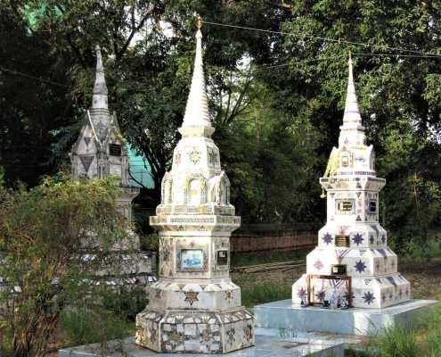 Wat Phutthaisawan, Ayutthaya, funerary stupa