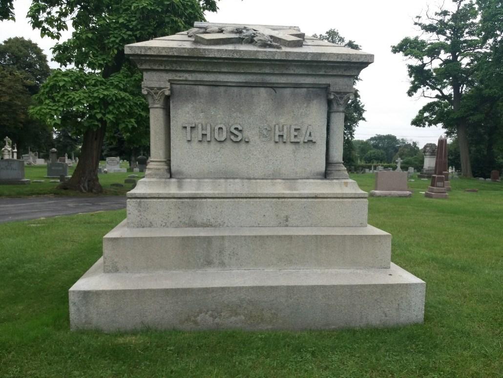Grave of Thomas Shea, Calvary Cemetery Milwaukee