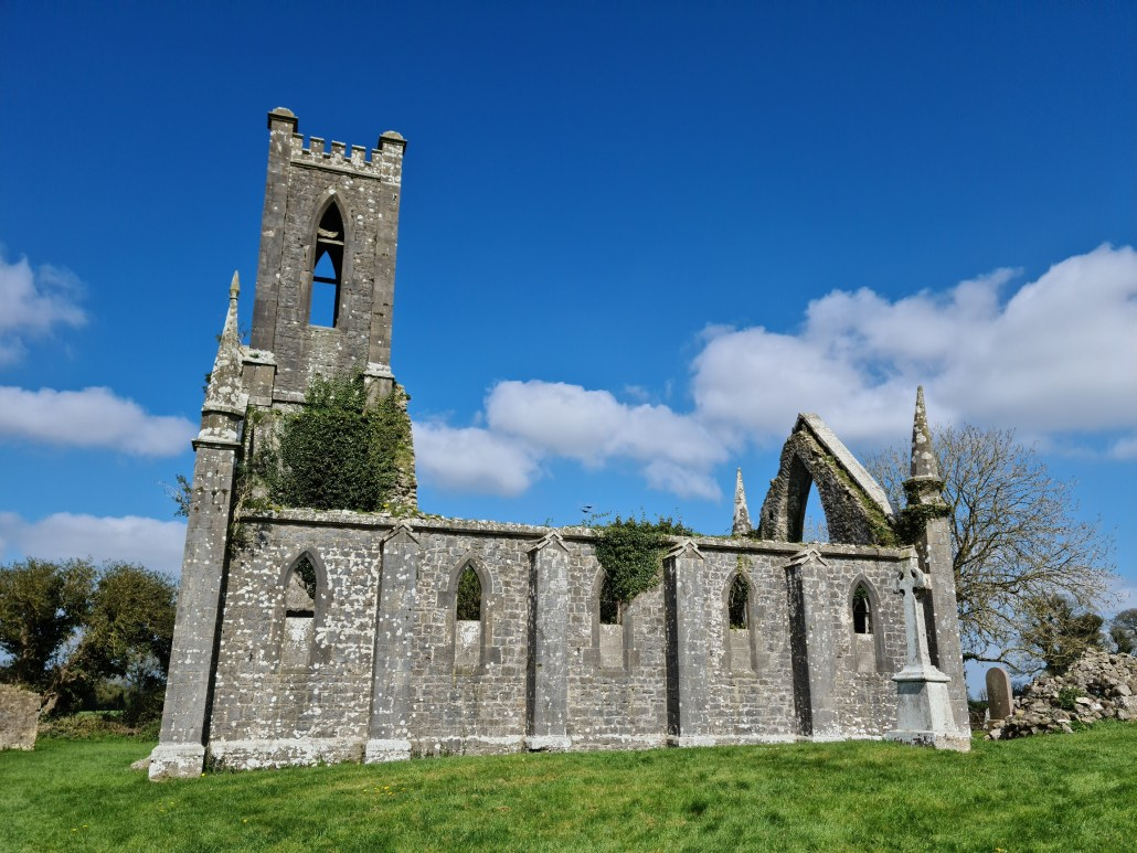 Ruins of Ballinafagh Church Co Kildare