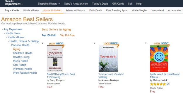 HOW TO HIT #1 ON AMAZON'S BESTSELLER LIST—REPEATEDLY - Dying