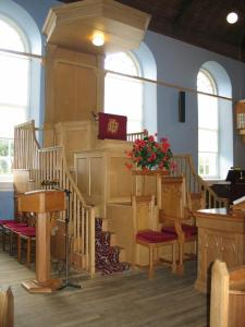 Triple Deck Pulpit