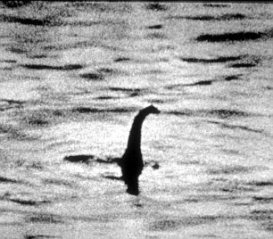 THE LOCH NESS MONSTER EXHIBITION AT THE NATIONAL MUSEUM OF FILM AND TELEVISION IN BRADFORD The Unexplained exhibition opened by Uri Geller