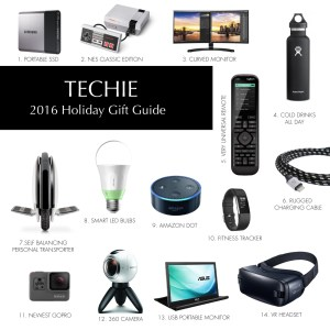Electronics 2016 Gift Guide for Men