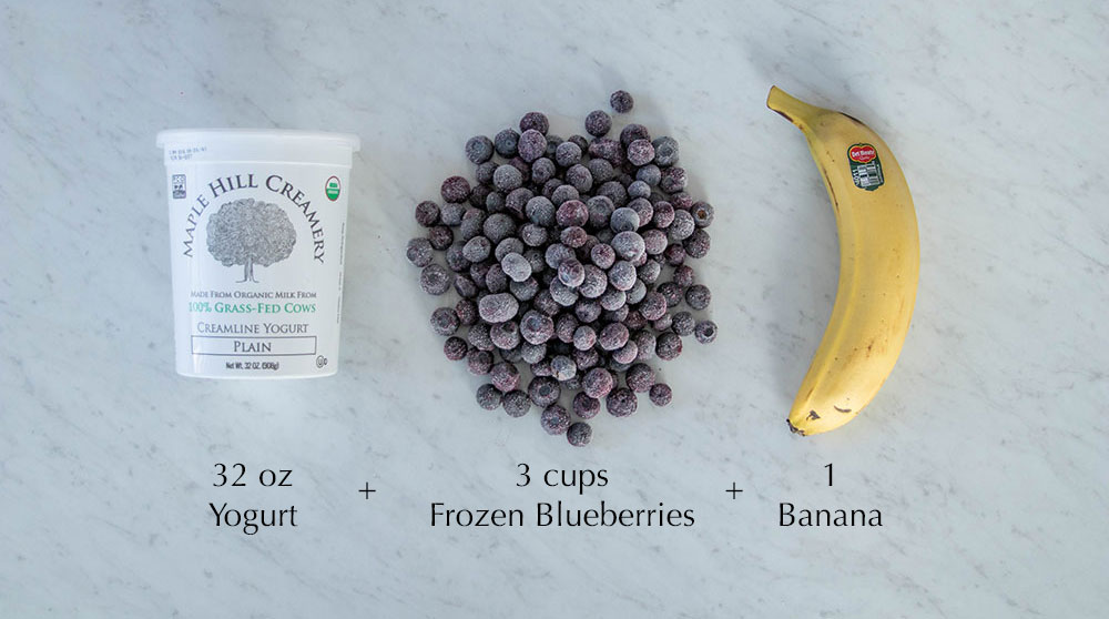 Blueberrie Banana Smoothie