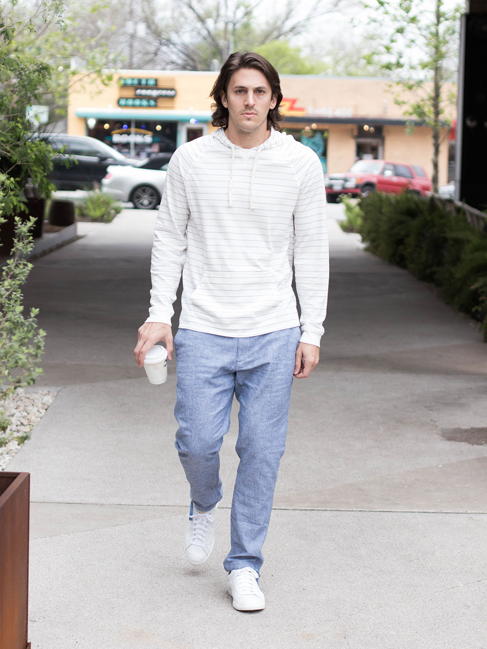 Pullover and Joggers on South Congress - Austin