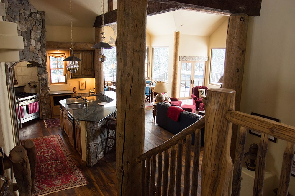 Kitchen and Living Room Breckenridge Colorado