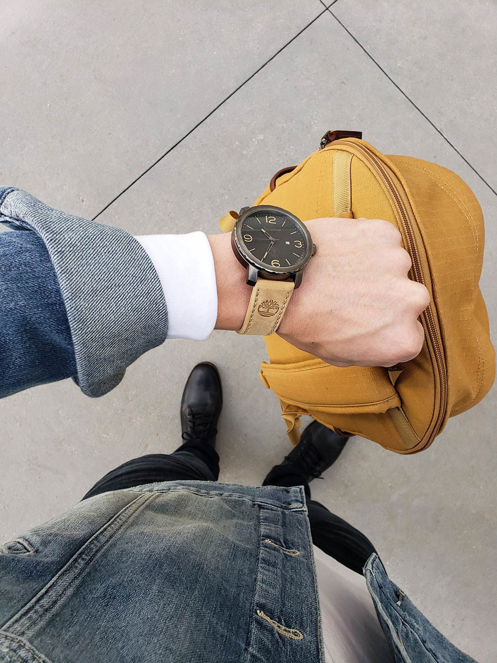 Timberland Watch and Bag