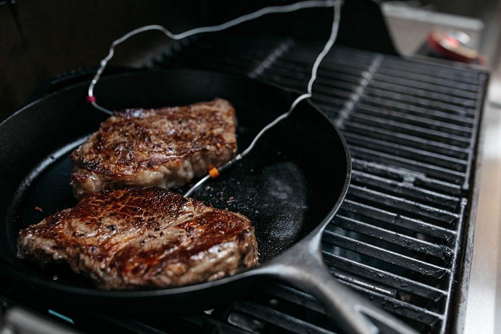 Grilling The Best Ribeye Steaks 2 Horizontal