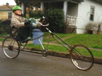 chopped bike