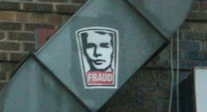 """""""Fraud"""" photo by Michele Hubacek"""