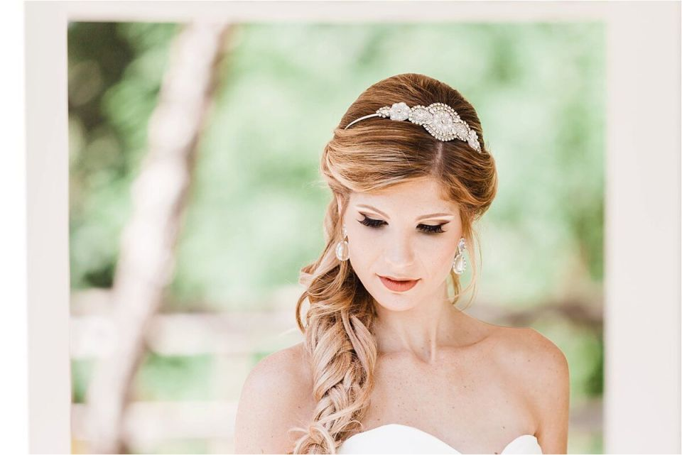 Gorgeous Natural Bridal Makeup And Braided Hair London Ontario Wedding Enement Photographer Dylan Martin