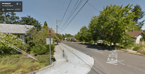 Looking north at NE 33rd and Going St, Portland, OR (Source: Google Street View)