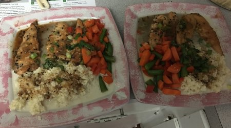 Easy homemade meals with lots of fresh veggies.
