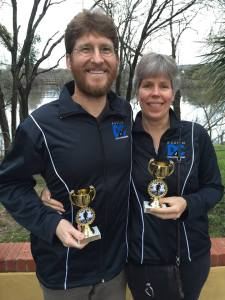 Dylan and Lori win age group 2nd and 1st place, respectively, in the 2014 Austin Distance Challenge. Thanks, Coach!